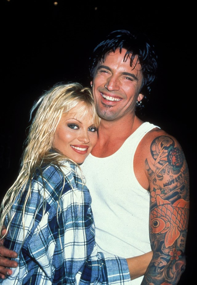 **Who?** Pamela Anderson and Tommy Lee.  **How long?** 96 hours.  **Did it last?** After meeting, Pamela and Tommy got married four days—literally 96 hours—later. They divorced three years later and share two sons.