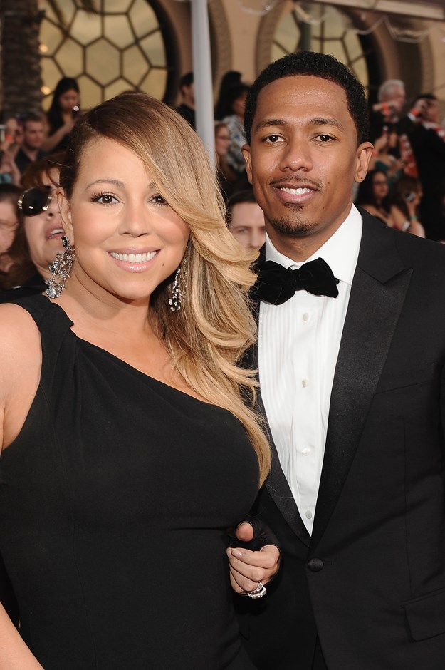 **Who?** Mariah Carey and Nick Cannon.  **How long?** Two months.  **Did it last?** After meeting on the set of her music video 'Bye Bye', Mariah and Nick secretly married in the Bahamas in April, 2008. They share twins, Moroccan and Monroe, but are divorced.