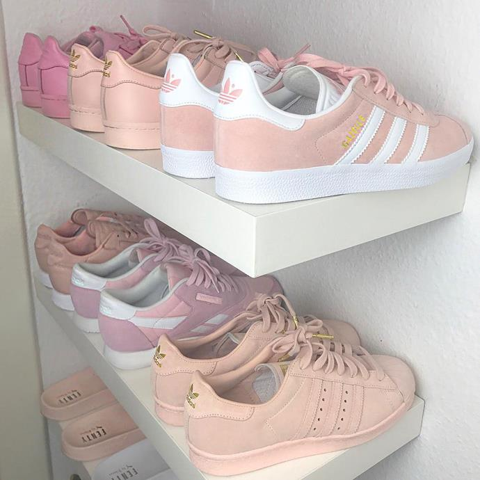 "<p><strong>Sherlina Nym</strong> <p>Sherlina has over one million Instagram followers and regularly documents her outfits (and new sneaker acquisitions). Can you even deal with all this pink, pastel prettiness? <p>Image: <a href=""https://www.instagram.com/p/BMwiv_MAmkn/"">@sherlinanym </a>"