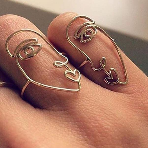 "Sarah and Sebastian have long been the beacon of cool-girl jewellery and their, Pablo Picasso-esque collection of rings and earrings is no exception.<br><br> Image: Instagram <a href=""https://www.instagram.com/p/BOT_dwODULN/"">@oraclefoxjournal</a>"