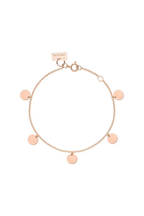 "<strong>Buy:</strong> Vanrycke bracelet, $627, <a href=""https://www.mychameleon.com.au/marrakech-bracelet-p-2769.html?typemf=women"">My Chameleon</a>"