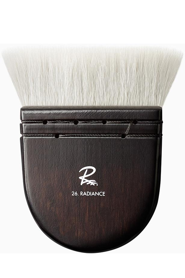"<strong>The foundation brush</strong> ""A good brush can make any foundation look airbrushed. You get better results with a brush than with your fingers or a sponge. I recommend my Rae Morris Radiance Brush. I designed it for this exact reason—to make all foundation look FLAWLESS."" <a href=""http://https://raemorris.com/product/brush-26-radiance/"">The Rae Morris Radiance Brush, $88</a>"