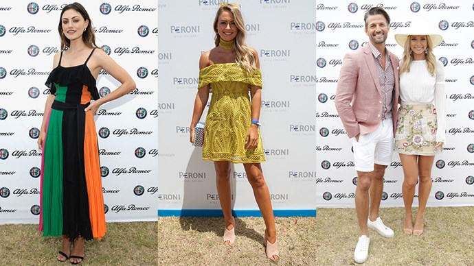 <p>We take a look at the best dressed from the 2017 Alfa Romeo Portsea Polo.