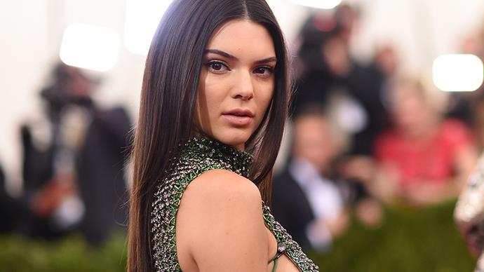 Kendall Jenner.