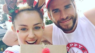 Miley Cyrus' Birthday Party For Liam Hemsworth Had Weed Goodie Bags, Horse Statues, Free Tattoos