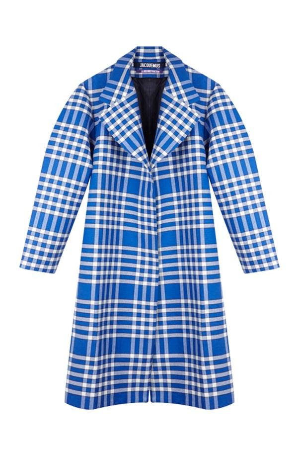 """Jacquemus coat, on sale now at <a href=""""https://www.mychameleon.com.au/manteau-torchon-coat-p-4986.html?sale_view=yes&typemf=women"""">My Chameleon</a>, was $1,120 now $784."""