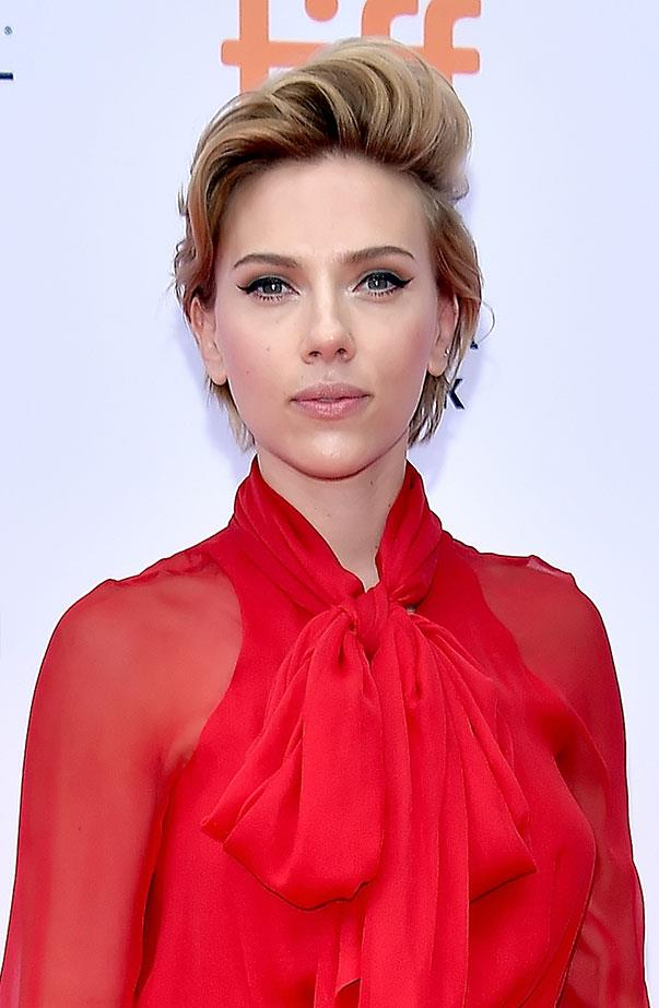 <p>Women's March: Scarlett Johansson.