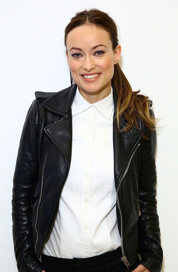 <p>Women's March: Olivia Wilde.