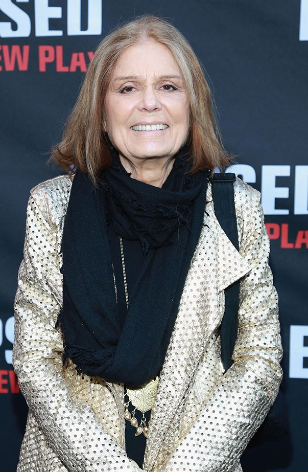<p>Women's March: Gloria Steinem.