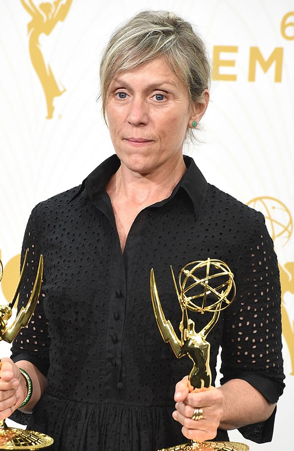 <p>Women's March: Frances McDormand.