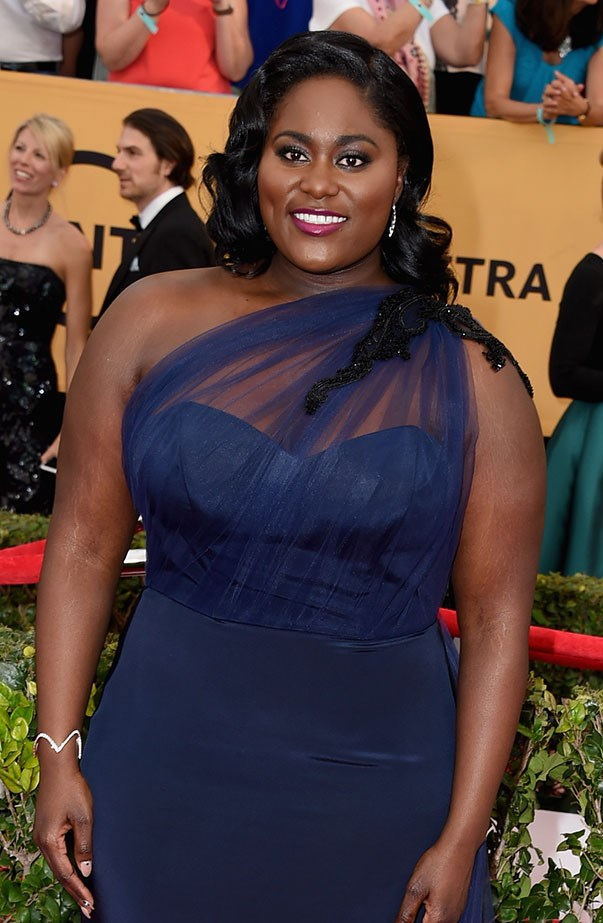 <p>Women's March: Danielle Brooks from <em>Orange Is the New Black</em>.