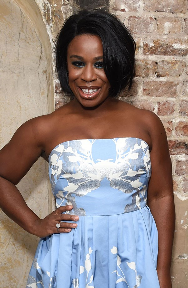 <p>Women's March: Uzo Aduba from <em>Orange Is the New Black</em>.