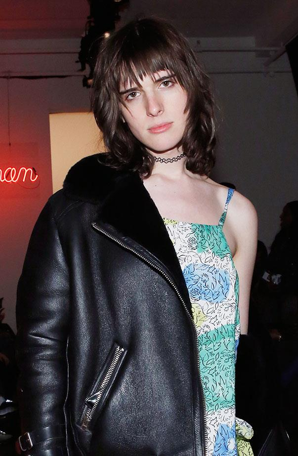 <p>Women's March: Hari Nef.