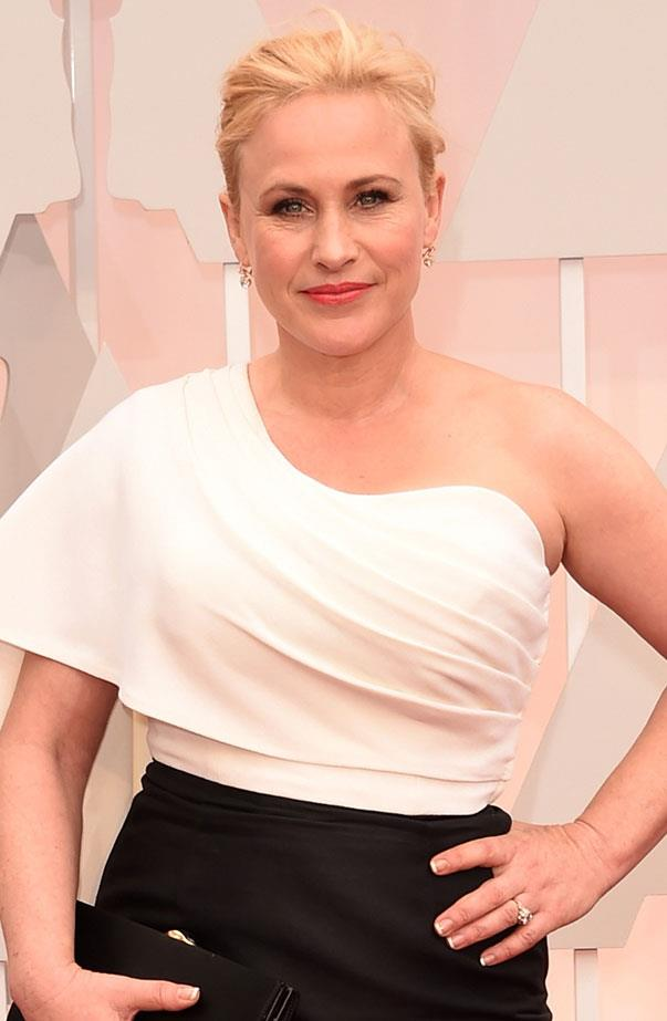 <p>Women's March: Patricia Arquette.