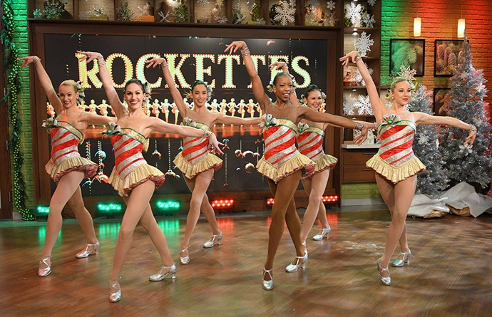 <p>Trump's inauguration: Some of The Rockettes (not even all of them).