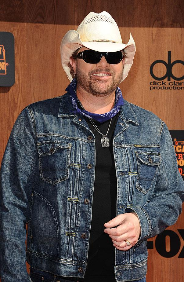 <p>Trump's inauguration: Toby Keith, a country music star.