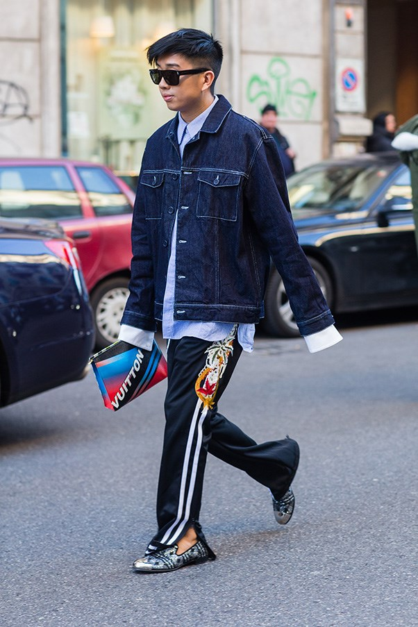 <strong>3. Have fun with oversized pieces</strong><br><br> Last year was the beginning of fashion's love affair with the exaggerated cuff. In 2017, it doesn't look like oversized is going to slow down. If you're going to go for the 'two sizes two big' look on top, keep down below fitted and sleek.