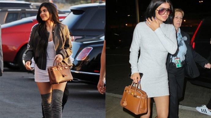 "<strong>Kylie Jenner</strong> <br><Br> Birkin Bag, price on request, <a href=""http://australia.hermes.com/birkin/au"">Hermès</a>."