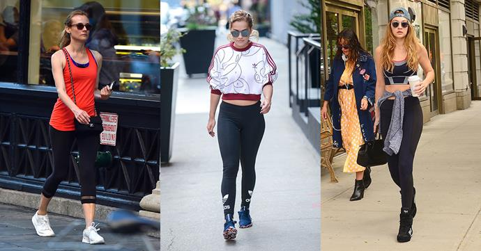 <p>Take your workout inspiration from these stylish stars.