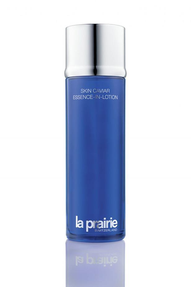 "La Prairie Skin Caviar Essence-In-Lotion, $300, at <a href=""http://www.laprairie.com.au/au/skin-caviar-essence-in-lotion/95790-01203-40.html#icid=navcolcav&gclid=Cj0KEQiA5IHEBRCLr_PZvq2_6qcBEiQAL4cQ01yXpMa8E9qVWoB5UlB4sHrXjJRG4i1-_uEELcAsEUUaAmcU8P8HAQ&start=1&cgid=caviar-collection"">La Prairie</a>"