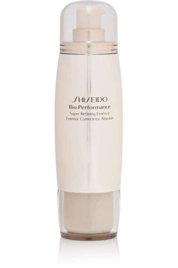"Shiseido Bio-Performance Super Refining Essence, $134, at <a href=""http://http://shop.davidjones.com.au/djs/ProductDisplay?catalogId=10051&productId=13225&langId=-1&storeId=10051&CAWELAID=620017140000002110&gclid=Cj0KEQiA5IHEBRCLr_PZvq2_6qcBEiQAL4cQ0-kGf-KhmgIVNXf9LYQWrYA8PWyrth-AYeUss8bFjSQaAseo8P8HAQ"">David Jones</a>"
