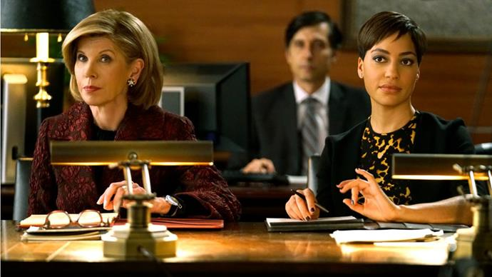 """<p><strong>The Good Fight</strong> <p><strong>Premiere: </strong>February 19 <p><em>The Good Wife</em>'s spin-off centres on Diane Lockhart (Christine Baranski), who finds herself in free-fall a year on from the original show's ending, having been left penniless by a financial scam and forced out of her position at Lockhart & Lee. She and her goddaughter Maia (<em>Game of Thrones'</em> Rose Leslie) join Lucca Quinn (Cush Jumbo) at a prestigious Chicago firm and try to rebuild their reputations. Fingers crossed it'll live up to <em>The Good Wife's </em>sharp, complex example—but with added swearing, sexuality, and political anxiety. <p>Watch the trailer <a href=""""https://www.youtube.com/watch?v=JsZ2kejlHF8"""">here</a>."""