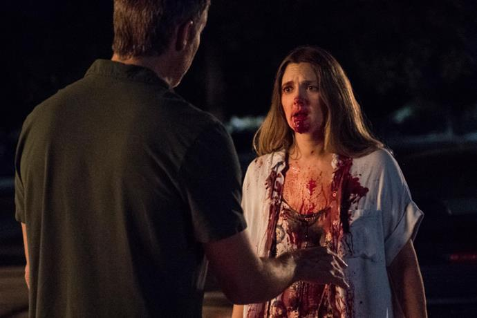 """<p><strong>Santa Clarita Diet</strong> <p><strong>Premiere:</strong> February 3 <p>Drew Barrymore's <em>Netflix</em> show is not precisely what it appears to be. From that title and those early posters, you might be forgiven for wondering: Is <em>Netflix</em> adapting celebrity diet books now? Instead, <em>Santa Clarita Diet</em> is a peppy horror-comedy starring Barrymore as a suburban mum whose life is transformed overnight when she wakes up without a heartbeat and craving human flesh. Yes, now she's a zombie…but she and her family prefer not to use that term. <p>Watch the trailer <a href=""""https://www.youtube.com/watch?v=xjRnbOgoAUQ"""">here</a>."""