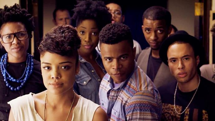 """<p><strong>Dear White People</strong> <p><strong>Premiere:</strong> TBC <p>Based on the crowdfunded Sundance hit of the same name from 2014, Netflix's new half-hour comedy promises to satirise """"post-racial"""" America, focusing on a diverse group of students as they navigate life at a predominantly white, fictional Ivy League school. Written and partially directed by the film's director, Justin Simien, <em>Dear White People </em>promises to re-create the dagger-sharp observational humour and cultural smarts that made the movie so essential. <p>Watch the trailer <a href=""""https://www.youtube.com/watch?v=XwJhmqLU0so"""">here</a>."""