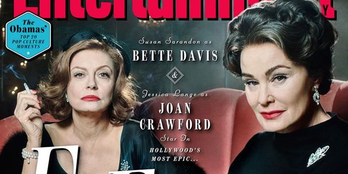 <p><strong>Feud: Bette and Joan</strong> <p><strong>Premiere: </strong>March <p>Ryan Murphy's latest FX show is yet another anthology series, with each season promising to focus on a different iconic feud. The debut season follows the legendary rivalry between Bette Davis (Susan Sarandon) and Joan Crawford (Jessica Lange) during the 1962 production of <em>What Ever Happened to Baby Jane</em>? It's an addictive blend of Old Hollywood glamour, campy thrills, and insightful performances from Sarandon and Lange.