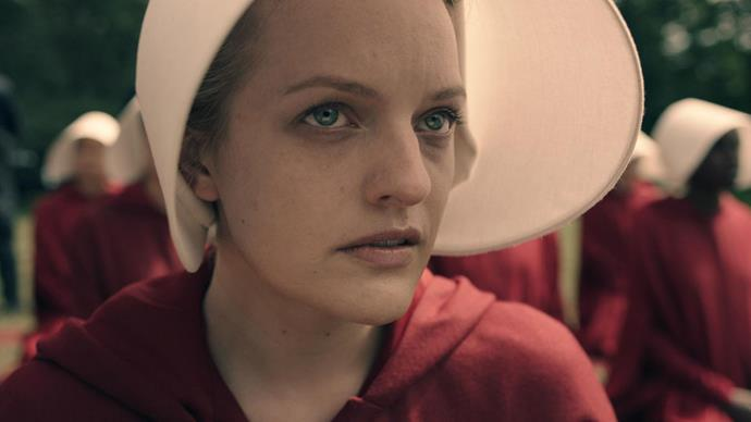 """<p><strong>The Handmaid's Tale</strong> <p><strong>Premiere: </strong>April 26 <p>Margaret Atwood's vision of a dystopian future in which women are entirely subjugated by men has always seemed timely, but on the eve of Trump's America it feels more essential and frightening than anyone could have predicted. Elisabeth Moss stars as Offred, a woman forced into sexual slavery in the household of a powerful general, in a future where the former United States has become a military dictatorship and women's reproductive rights have been abolished. Costarring <em>Orange Is the New Black</em>'s Samira Wiley and Alexis """"Rory Gilmore"""" Bledel, Hulu's brutal new drama is the kind of feminist survival story we could all use more of in 2017. <p> Watch the trailer <a href=""""https://www.youtube.com/watch?v=Dre0wQmLGe8"""">here</a>."""