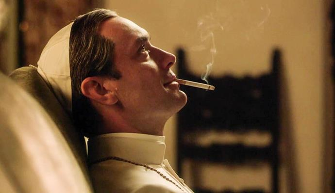 """<p><strong>The Young Pope</strong> <p><strong>Premiere:</strong> January 15 in the US; still waiting for an Australian date <p>If you're not yet on board with this winter's weirdest, most outlandish, most unexpectedly timely new show, rectify that ASAP. Jude Law plays Lenny Belardo, a young American cardinal newly elected pope by elders who intend to use him as a puppet, but swiftly realise that they've miscalculated. Gleefully irreverent and possibly sociopathic, Lenny takes quiet pleasure in upending social normals and papal convention, and his erratic antics make this U.S.-U.K. coproduction a bewildering, entirely unpredictable joy to watch—not to mention a pretty irresistible allegory for the rise of Donald Trump. <p>Watch the trailer <a href=""""https://www.youtube.com/watch?v=6we2blItR4s"""">here</a>."""