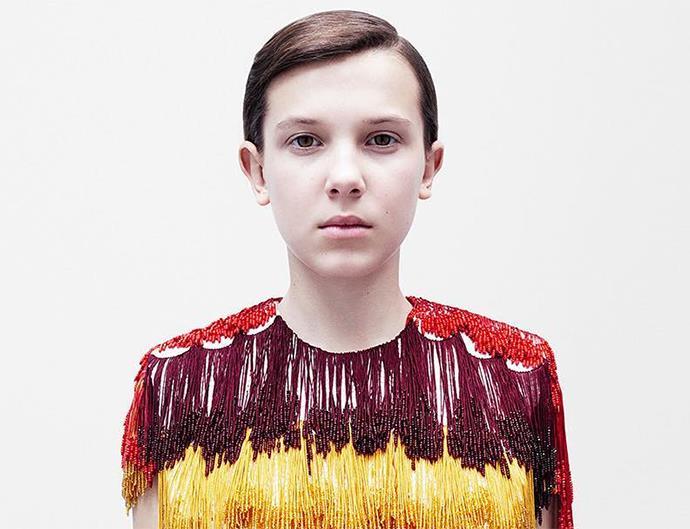 Millie Bobby Brown for Calvin Klein.