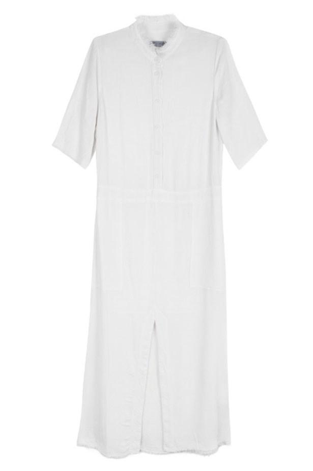 "Dress, $749, Raquel Allegra at <a href=""https://www.mychameleon.com.au/house-dress-p-5063.html?typemf=women"">MyChameleon</a>."