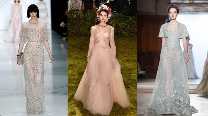 Dreamy bridal fashion