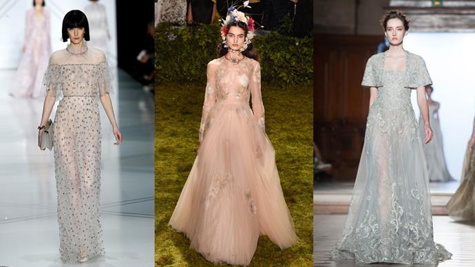 Here are 15 must-see dreamy bridal looks from haute couture fashion week which typify the dreamy-bride trend.
