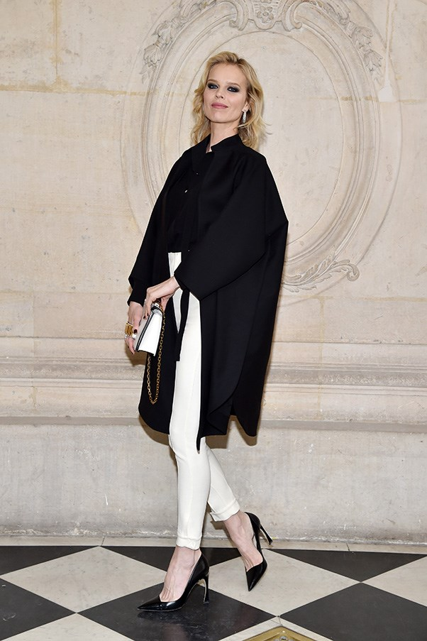 Eva Herzigová at Dior
