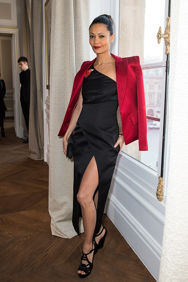 Thandie Newton at Schiaparelli