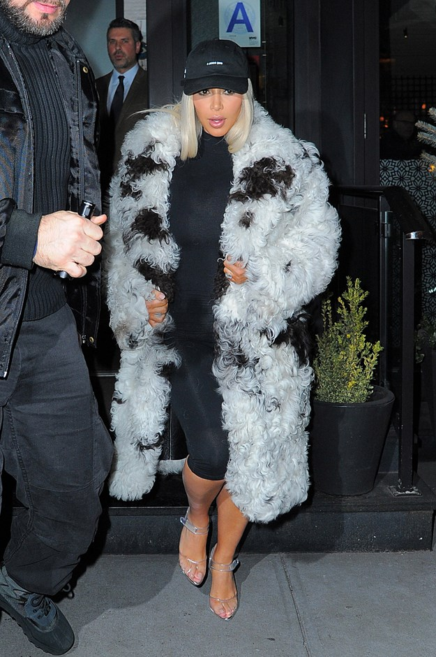 Kim Kardashian prefers hers in lycra. (Of course.)