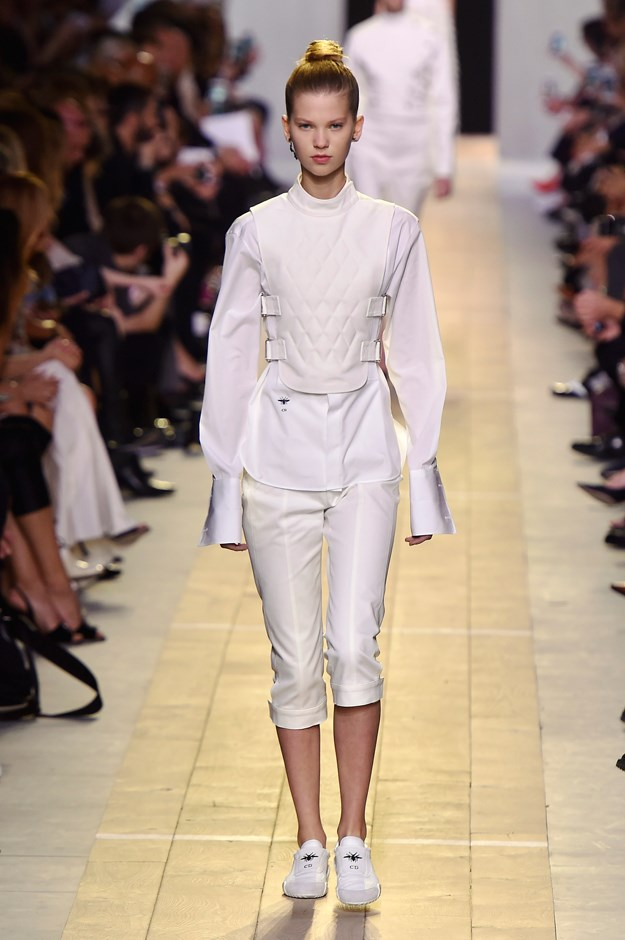 Dior seemed to be partial to the white.