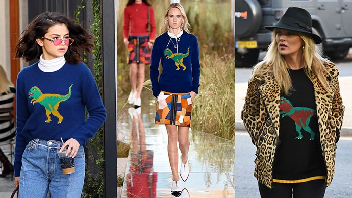 <p>As soon as it's cold enough, this is the jumper we're buying, as worn by these celebrities.