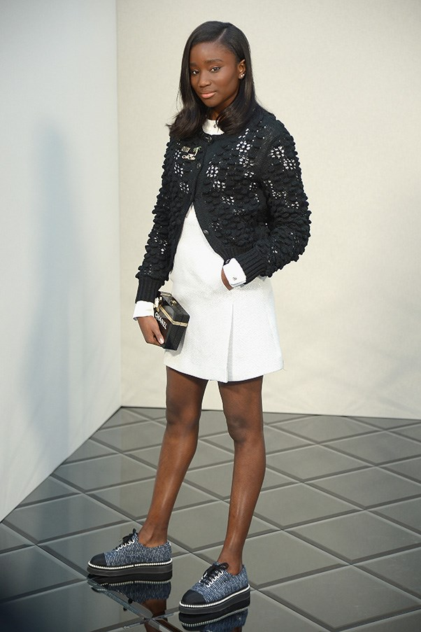 Karidja Touré at Chanel