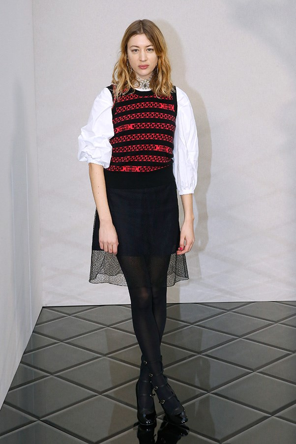 Sigrid Bouaziz at Chanel