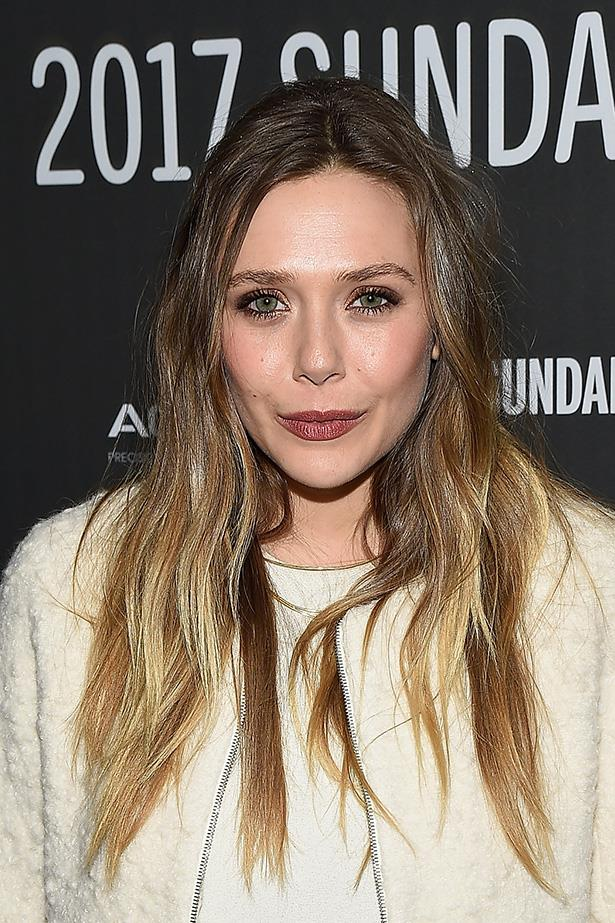 <strong>Elizabeth Olsen</strong> <br> <br> Messy waves, copper shadow, rose-brown lips and a hint of warmth on the apples of the cheeks sounds like a lot, but it looks just right.