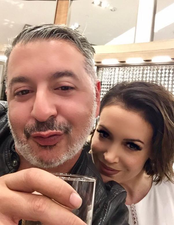 """<p><strong>Alyssa Milano</strong> <BR><BR> The singer shared this photo to her Twitter account with the caption, """"My best friend, Alaa Mohammad Khaled, is Muslim. His parents were Palestinian refugees. His brother is DJ Khaled. #RefugeesWelcome"""""""