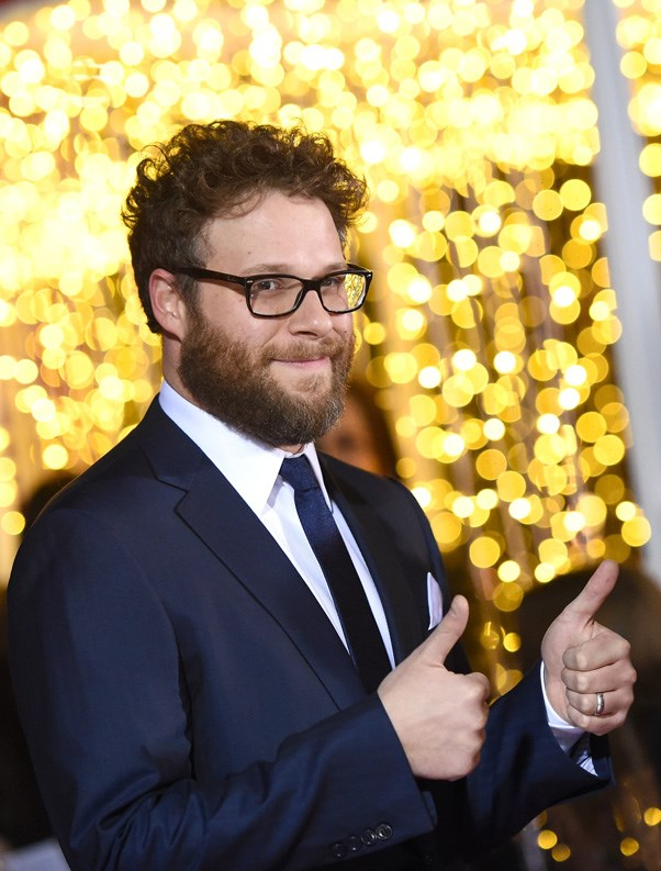 """<p><strong>Seth Rogan</strong> <BR><BR> The comedian had nothing funny to say today, instead he urged people to protest via Twitter. """"LA protest on #Muslimban TODAY 1-5 at Federal Immigration Office, 300 N. Los Angeles St."""""""