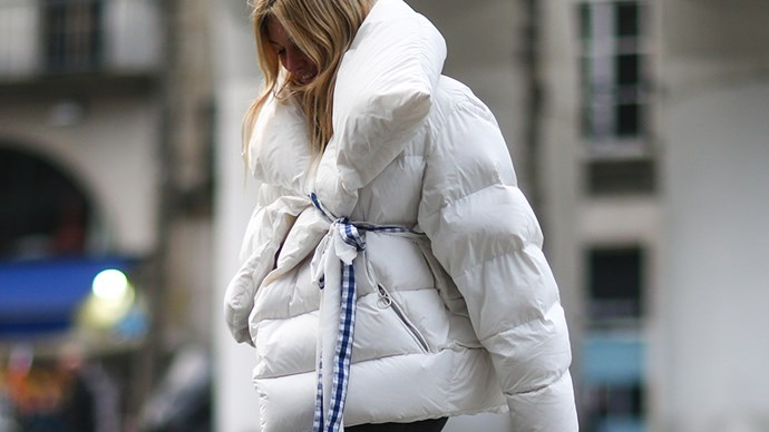 <p>All the proof you need that puffer jackets are making a return this year.