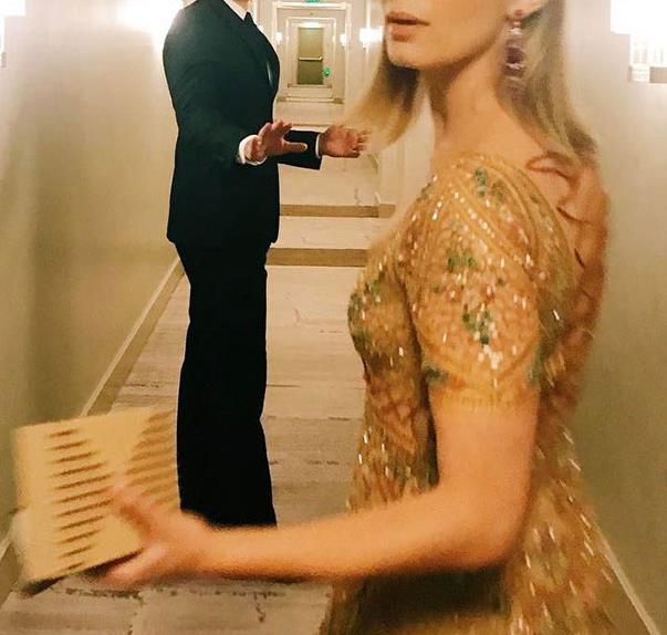 John Krasinski and Emily Blunt SAG Awards