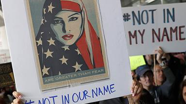 The Most Powerful Imagery From The Muslim Ban Protests