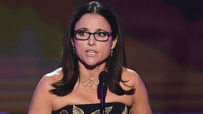 """<p><strong>Julia Louis-Dreyfus</strong> <BR><BR> """"I want you all to know that I am the daughter of an immigrant. My father fled religious persecution in Nazi-occupied France, and I'm an American patriot, and I love this country, and because I love this country by am horrified by its blemishes. This immigrant ban is a blemish and it is un-American."""" She continued, """"Our guilds are unions of storytellers who always welcomed those from the nations of varying beliefs who wish to share their creativity with America. We are grateful for them. We stand with them. And we will fight for them."""""""