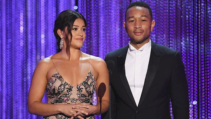 """<p><strong>John Legend</strong> <BR><BR> """"Los Angeles is the home of so many immigrants, so many creative people, so many dreamers. Our America is big, it is free, and it is open to dreamers of all races, all countries, all religions. Our vision of America is directly antithetical to that of President Trump. I want to specifically tonight reject his vision and affirm that America has to be better than that."""""""